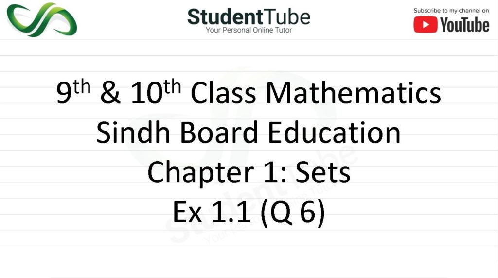 Exercise 1.1 - Chapter 1 - Q 6