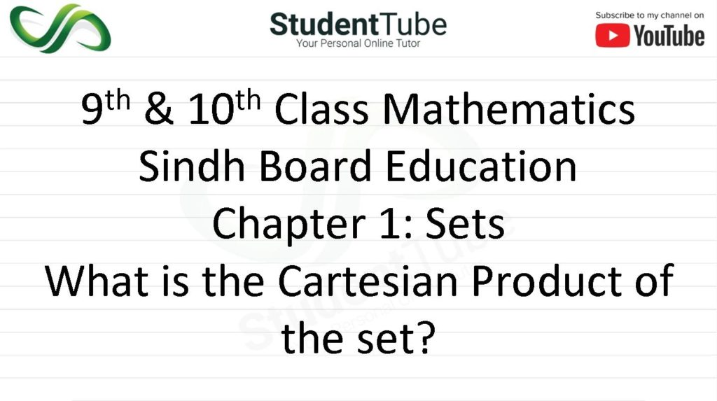 What is the Cartesian Product of the Sets?