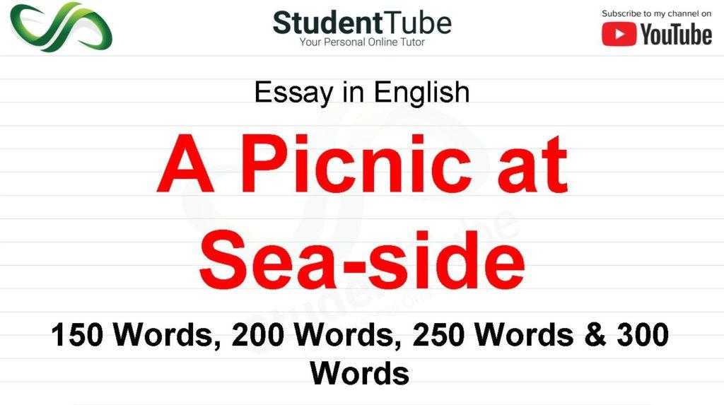 A Picnic at Sea-side