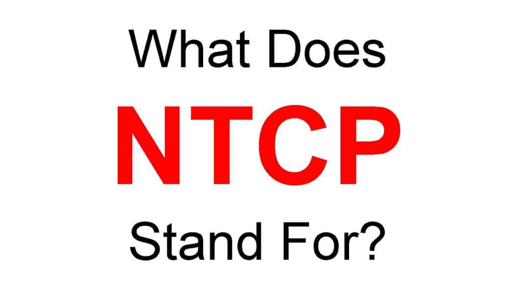 NTCP Full Form - What Does NTPC Stand for?