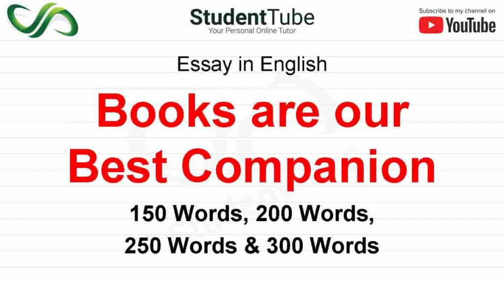 Books are our Best Companion Essay