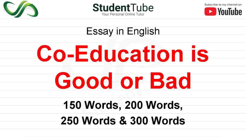 essay topics co education