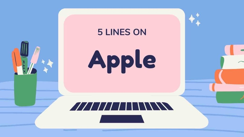 5 Lines on Apple