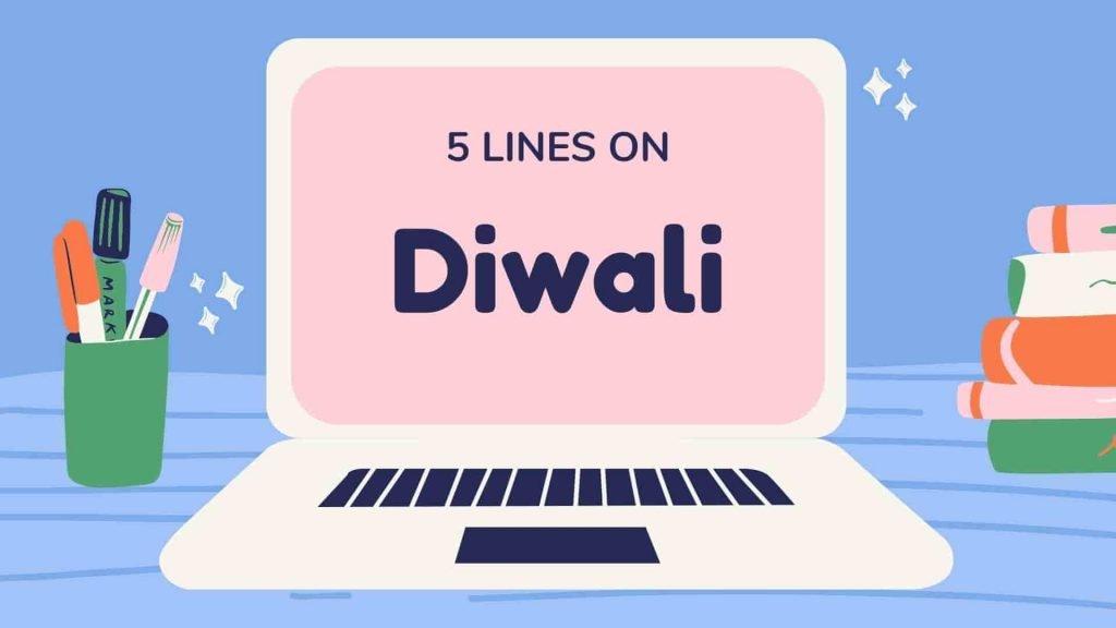 5 Lines on Diwali