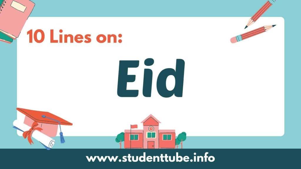 10 Lines on Eid