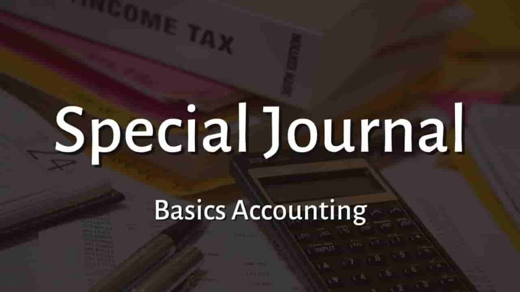 What is Special Journal
