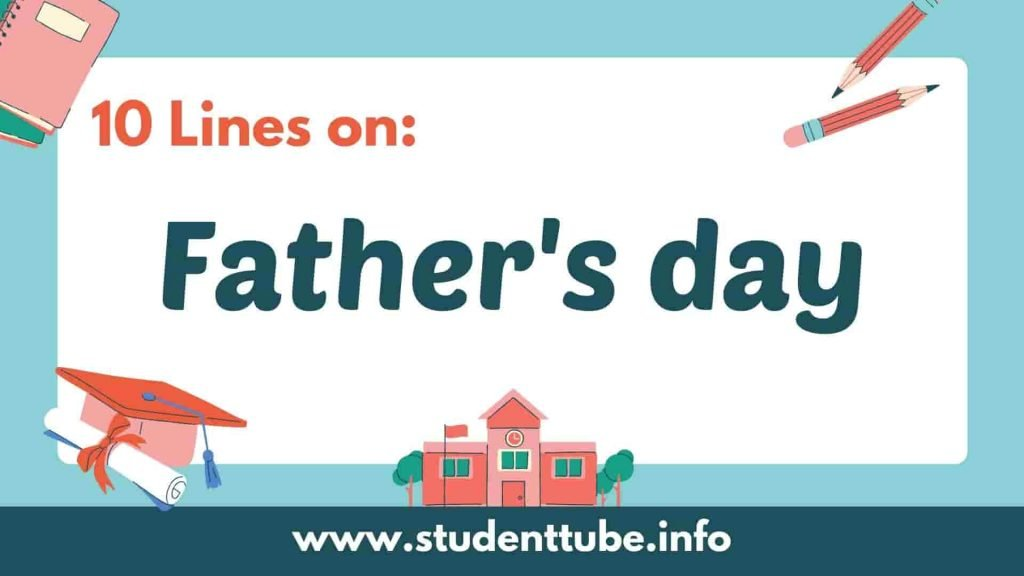 10 Lines on Father's Day