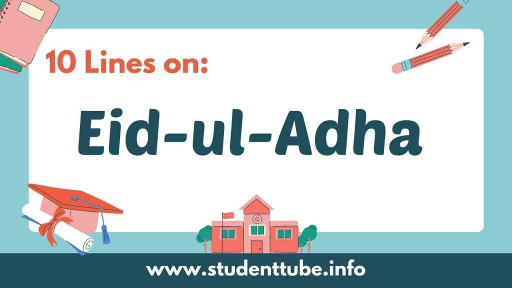 10 lines on Eid-ul-Adha